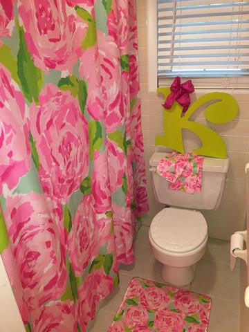 KK's Custom Shower Accessories: Lilly Inspired
