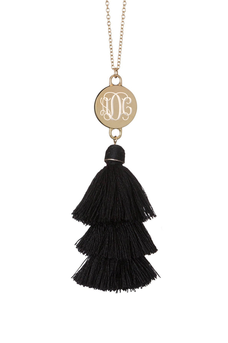 Ally: Personalized Fringe Necklace