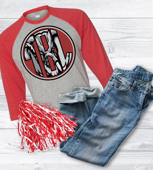 Alabama Baseball tee: Raglan
