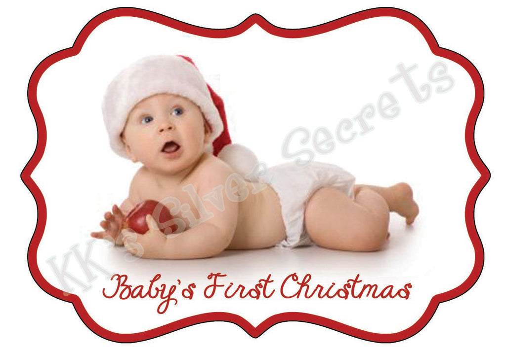 Ornament: Baby's Ist Christmas