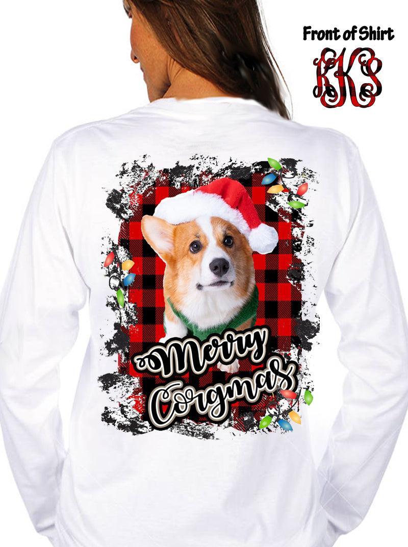 Corgi Christmas: White