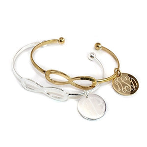 Classic Infinity Bracelet: Gold/Silver