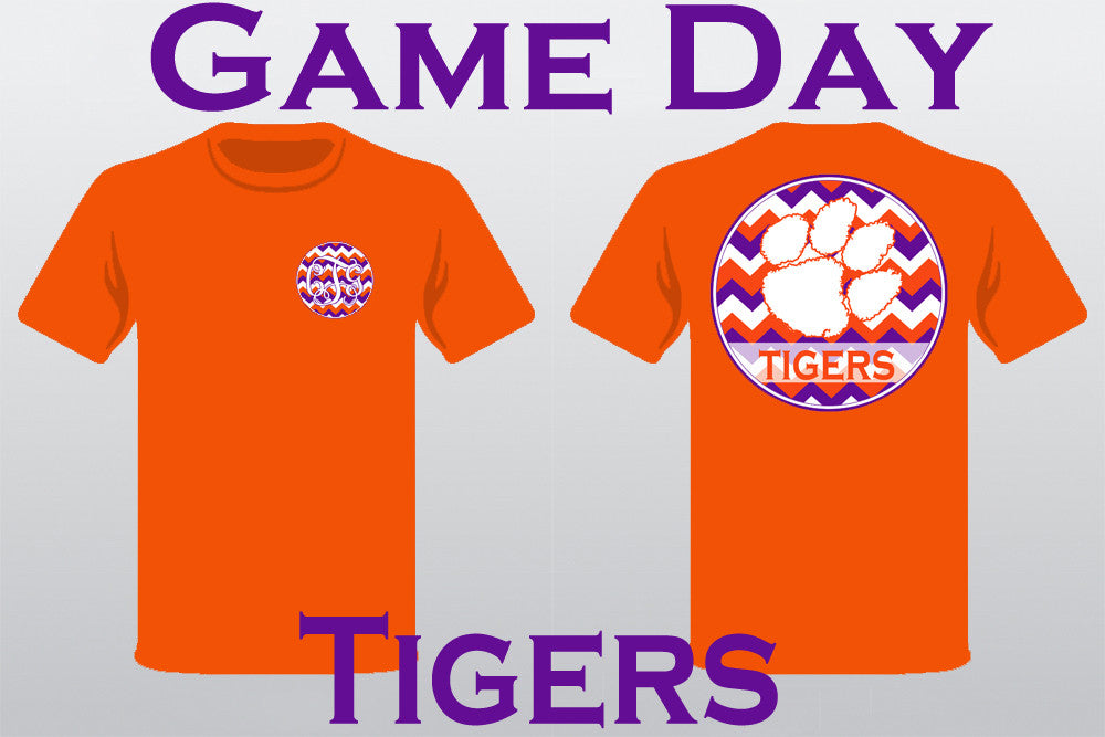 Game Day T-Shirt: Clemson