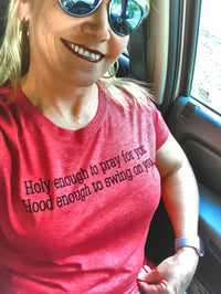Holy & Hood: fitted tee