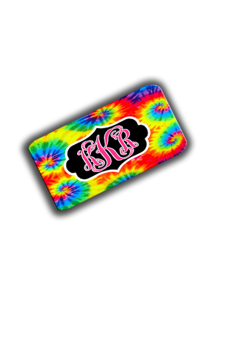 TieDye License Plate