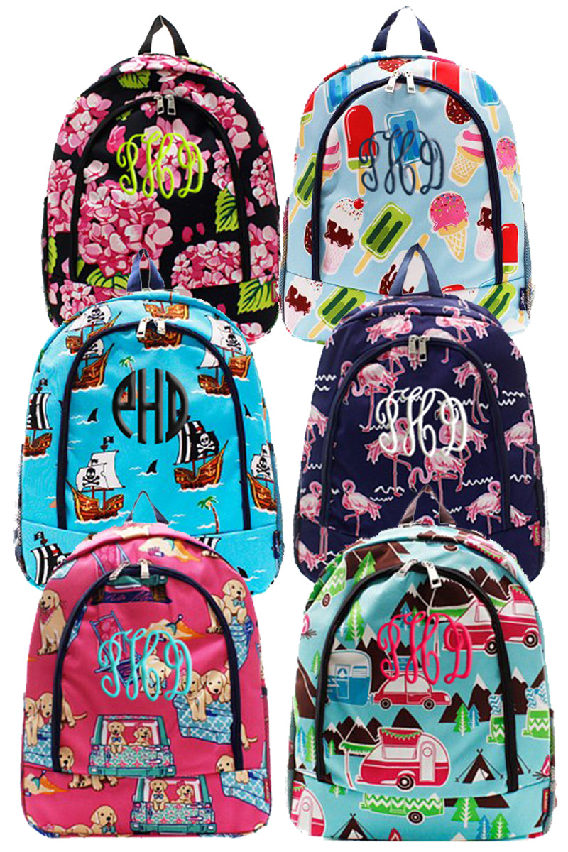 Personalized Patterned Backpacks