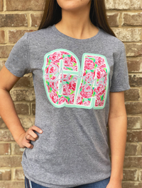 Georgia Girl Short Sleeved Graphic Tee