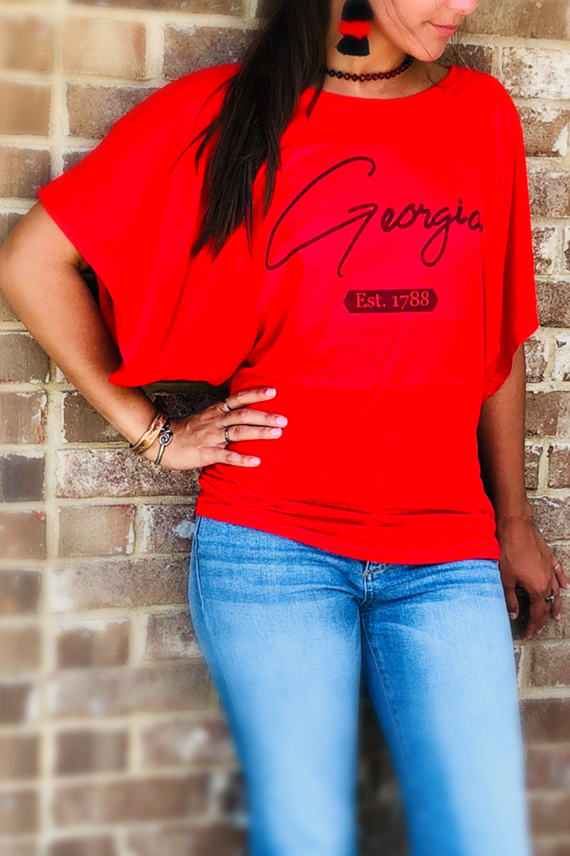 Georgia: Off the Shoulder Tee