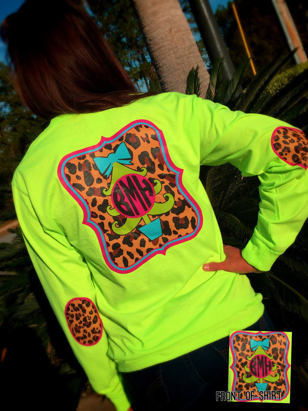Funky Cheetah Christmas: Lime