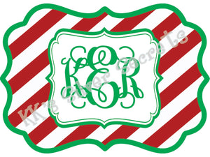 Ornament: Candy Cane