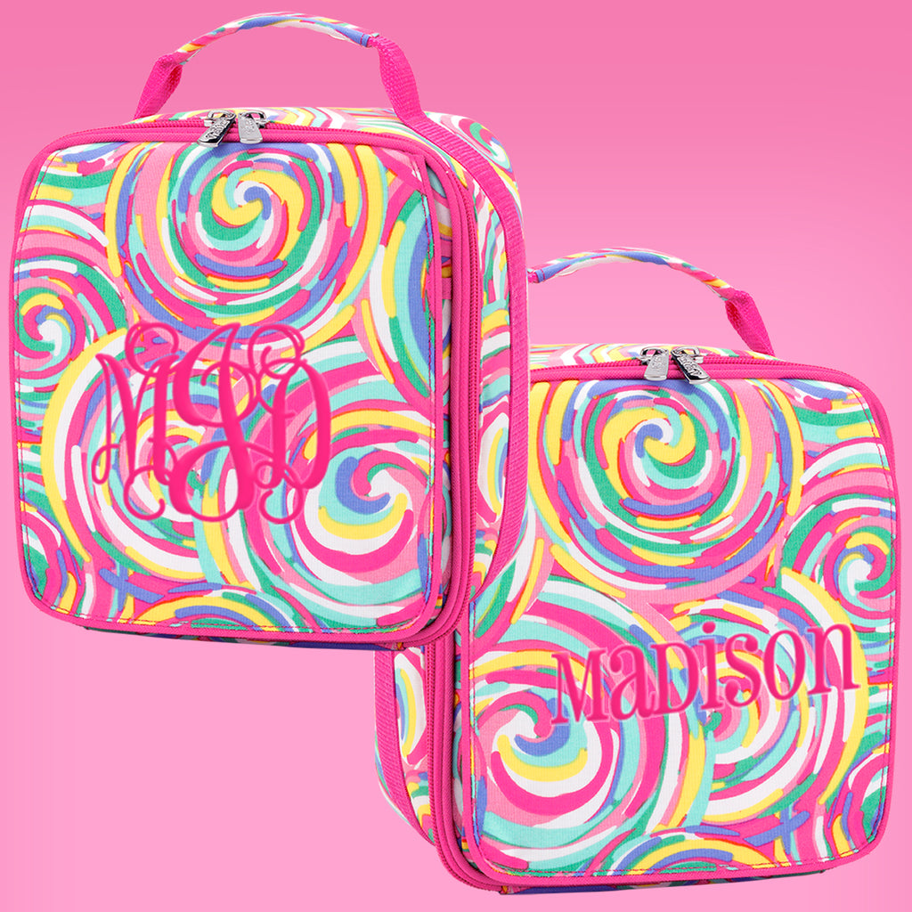 Summer Sorbet Personalized Lunch Box