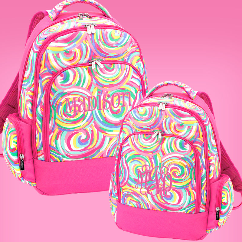 Summer Sorbet Personalized Backpack
