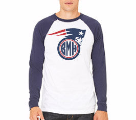 PATRIOTS GAME DAY RAGLAN: SUPER BOWL SPECIAL