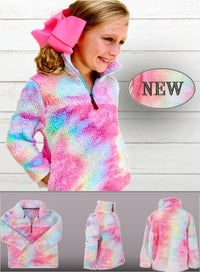 Rainbow Sherpa (Toddler & Girls)