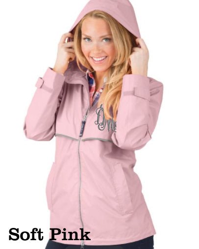 Monogram Charles River Rain Jacket