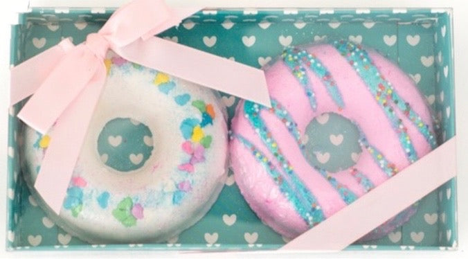 Donut Bath Bomb Duo Set