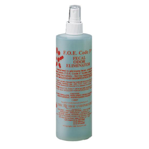 F.o.e. Code #3® & #4® Fecal Odor Eliminator - Liquid Chemistries