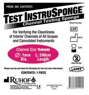 Test® Instrusponge - Cleaning Verification
