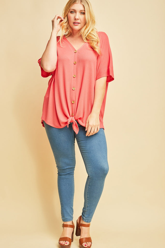 Coral Plus Top