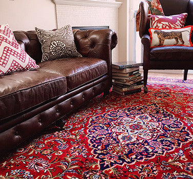 An Oriental Rug's Color: Sync vs. Contrast