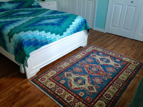Oriental Rug in Bedroom