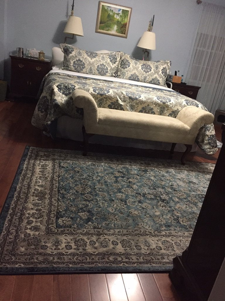 Bedroom in Perspective: Oriental Rug Edition
