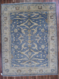 Indian Rug Hand Knotted Oriental Rug 9X11'9 Fine Oushak Oriental Rug