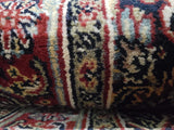 Indian Rug Hand Knotted Oriental Rug Fine Herati Oriental Runner 2'7X19'8