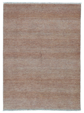 Indian Rug Hand Knotted Oriental Rug Fine Modern Oriental Rug 5'X6'8