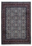Indian Rug Hand Knotted Oriental Rug Herati Oriental Rug 6'1X8'9