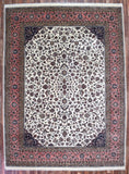 Indian Rug Hand Knotted Oriental Rug Large Fine Kashan Oriental Rug 10'X13'8