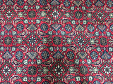 Indian Rug Hand Knotted Oriental Rug Large Herati Oriental Rug 8'1X11'8