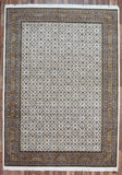 Indian Rug Hand Knotted Oriental Rug Large Herati Oriental Rug 8'3x11'7