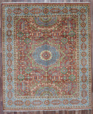 Indian Rug Hand Knotted Oriental Rug Large Mamluk Oriental Rug 8'3X9'9
