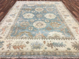 Indian Rug Hand Knotted Oriental Rug Large Oushak Oriental Rug 7'10X10'2