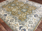 Indian Rug Hand Knotted Oriental Rug Large Oushak Oriental Rug 8'3X10'