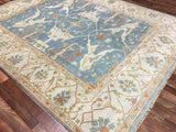 Indian Rug Hand Knotted Oriental Rug Large Oushak Oriental Rug 8'X9'10