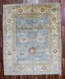Indian Rug Hand Knotted Oriental Rug Large Oushak Rug 8'2X9'11