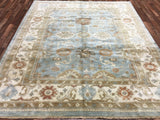 Indian Rug Hand Knotted Oriental Rug Large Rug Oushak 8'3X10