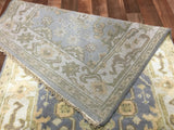Indian Rug Hand Knotted Oriental Rug Oushak Oriental Runner Rug 2'8X8'2