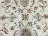 Indian Rug Hand Knotted Oriental Rug Peshawar Large Rug 5'5X8'2