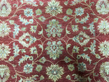 Indian Rug Hand Knotted Oriental Rug Peshawar Rug 6'X9'