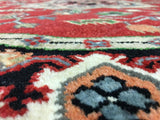 Indian Rug Hand Knotted Oriental Rug Serapi Round Oriental Rug 6'X6'