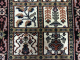 Indian Rug Hand Knotted Oriental Rug Small Bakhtiari Oriental Runner 2'4X4'7