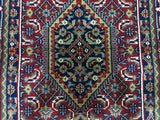 Indian Rug Hand Knotted Oriental Rug Small Bijar Oriental Area Rug 3'X5'5