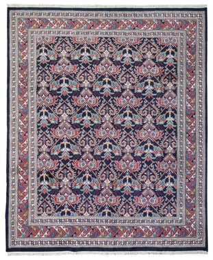Indian Rug Hand Knotted Oriental Rug Tabriz Oriental Rug 8'X9'8
