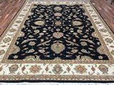 Indian Rug Hand Knotted Oriental Rug Very Fine Large Oriental Peshawar Chobi Rug 9X11'9