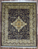 Indian Rug Hand Knotted Oriental Rug Very Fine Large Tabriz Oriental Rug 7'8X9'7