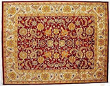 Indian Rug Hand Knotted Oriental Rug Very Fine Tabriz 8x10 Oriental Rug