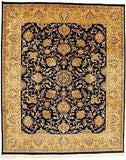 Indian Rug Hand Knotted Oriental Rug Very Fine Tabriz 8x10 Rug